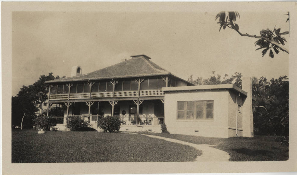 The Barnacle, home of Ralph Munroe's boathouse, n.d. (University of Miami Library, Special Collections)