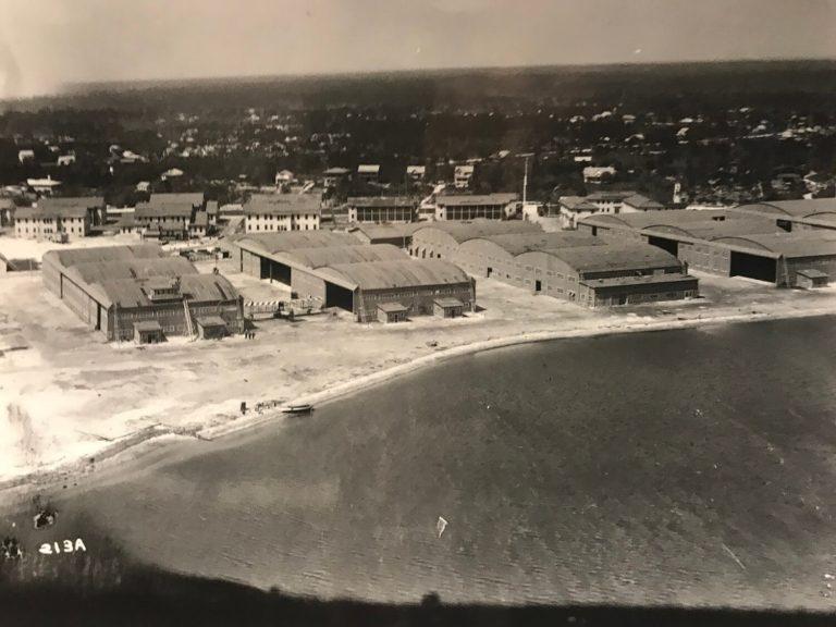 Naval Air Station on Dinner Key, c. 1913 (HistoryMiami)
